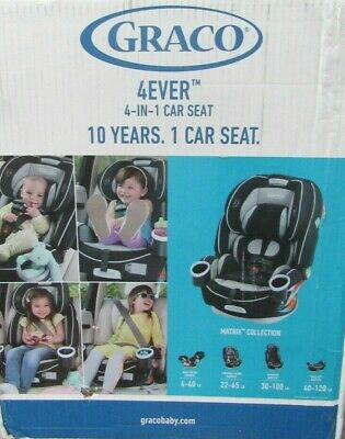 Graco Baby 4Ever Extend2Fit All-in-1 Convertible Car Seat