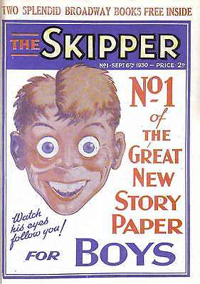 Uk Comics The Skipper Comic Collection 1930-1941 With Viewing Software