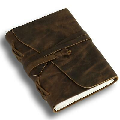 """Outrider Leather Journal 5"""" X 7"""" Notebook Diary Handmade Lined Ruled"""