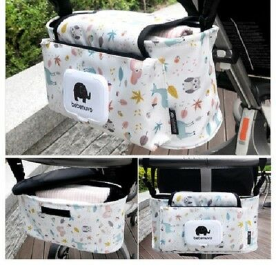 White Multi Stroller Organizer(Created For Your Beloved Child)