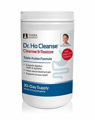 Dr. Ho Cleanse & Restore - Detox-Eliminate Built-up Toxins and Waste; Relieve...