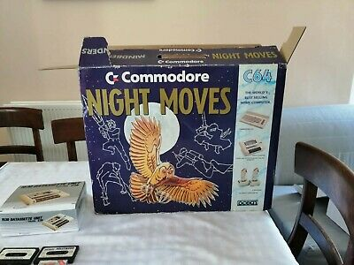 Commodore 64 Night Moves Boxed And Complete Tested And Working.