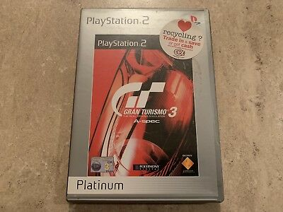 Gran Turismo 3 The Real Driving Simulator A-Spec PS2 Game