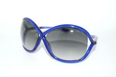 50e99bcce9b93 Tom Ford Whitney Tf9 90B Blue Authentic Sunglasses Women s Frames 64Mm Tf 9