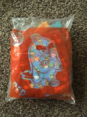McDonald's Angry Birds Happy Meal Toy Red Sealed