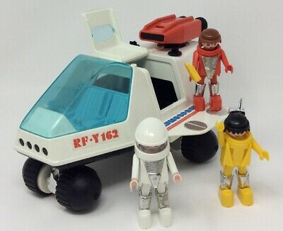 Playmobil Playmospace 3534 Space Shuttle RF Y 162 with 3 figures Vintage 1980