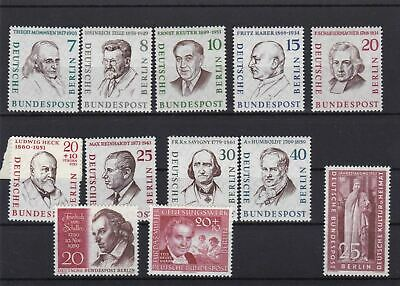 Germany 1957 Portraits Unmounted  Mint And Used