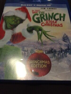 How the Grinch Stole Christmas (Blu-ray Disc, 2015) No Digital Like New