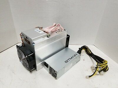 Bitmain Antminer D3 19.3G APW3++ PSU ASIC Dash Miner In Hand Original Boxed USA
