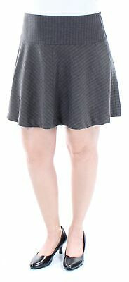 9d93395784 KENSIE WOMENS NEW 1282 Black Above The Knee A-Line Casual Skirt XL B ...