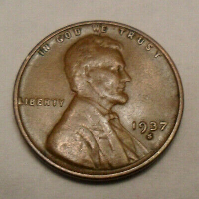 1937 S Lincoln Wheat Cent / Penny   *AG OR BETTER*   **FREE SHIPPING**