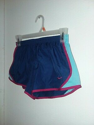 96827b288e443 NIKE DRI FIT 6X L Youth girls active Running shorts 36C283-A4F Racer ...