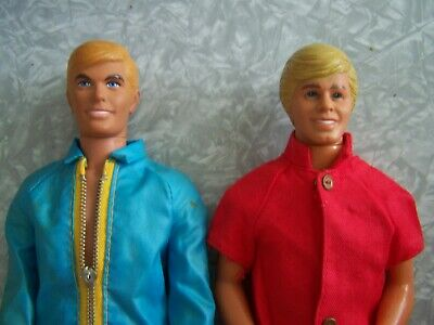 Vintage Ken Dolls And Clothing Lot