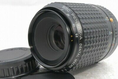 Exc+++ SMC Pentax A Dental Macro 100mm f 4 f/4 PK Lens *5958608