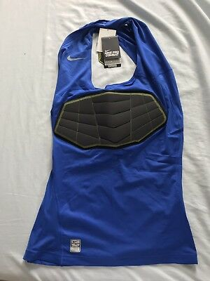 872aa08da10bb5 NEW Nike Pro Combat Hyperstrong Dri-Fit Basketball Compression Top Men Blue  XXL
