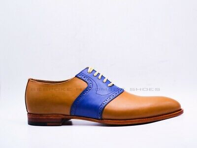 MAYBURY MENS HANDMADE English Lace Up Suede Smart Shoes