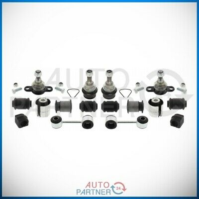 Suspension Arm Repair Kit Bushes Ball Joints Front 16 Teilig for VW T4 ab Bj. 96