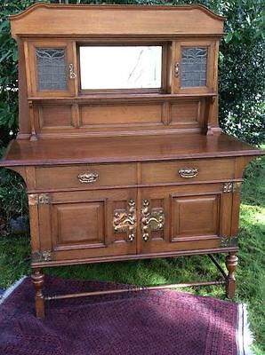 Antique Mission style quarter sawn oak Arts and Crafts  Sideboard