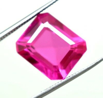 Ggl Certified 18.90 Ct Emerald Shape Natural Pink Sapphire For Nice Offer