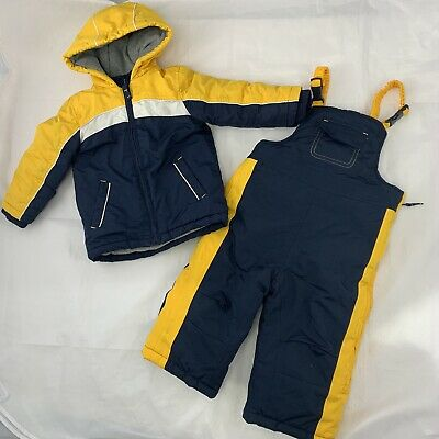 Mothercare 12-18 Months Saloupettes And Matching Coat Jacket Snow Suit Boys