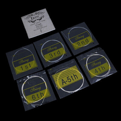 6Pcs/set Classical guitar strings nylon silver plated copper alloy strings LU