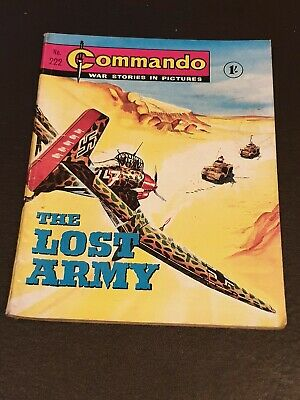 Commando War Stories In Pictures,no.222 The Lost Army - July 1966