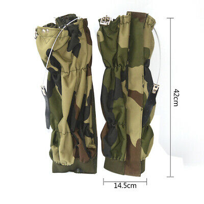 Hunting Leg Gaiters Waterproof Boot Snow Shoe Cover for Men and Women, Camo...