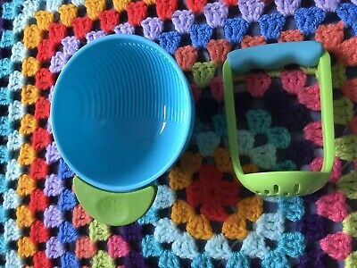 Annabel Karmel Masher and Bowl from 6 months + Baby Weaning