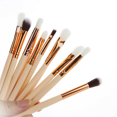 12X Pro Makeup Brushes Set Foundation Powder Eyeshadow Eyeliner Lip Brush Pop