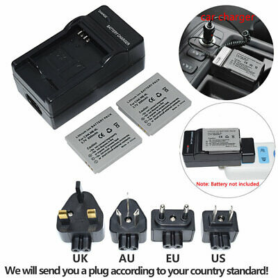 2 xBattery for CANON NB-4L IXUS 30 40 50 55 60 65 70 75 80 IS ZOOM NB4L +Charger