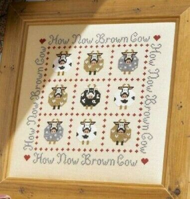 How Now Brown Cow - Counted Cross Stitch Kit by Historical Sampler Company