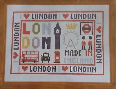 I Love London - Counted Cross Stitch Kit by Historical Sampler Company