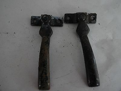 Reclaimed Vintage set of  2 Casement/Sash Window Handles-Metal-(4)