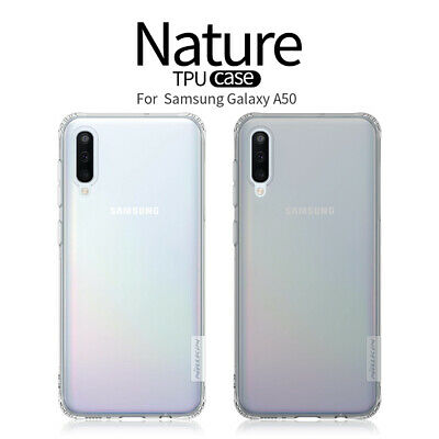 NILLKIN TPU Silicone Thin Soft Shockproof Back Case Cover For Samsung Galaxy A50