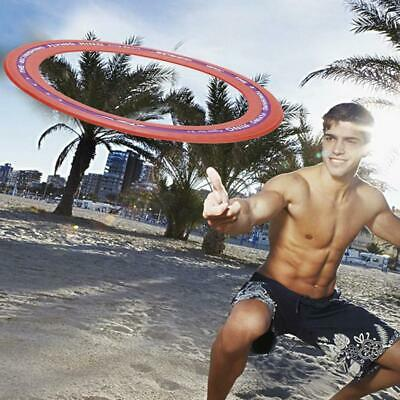 Silicone Flying Ring Frisbee Children Adult Outdoor Toys Hand Pushing UFO O Type