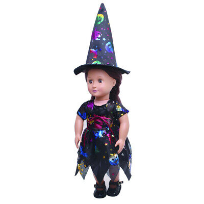Fairy Dress Top Hat for 18 inch AG American Doll Generation Dolls Gown Clothes