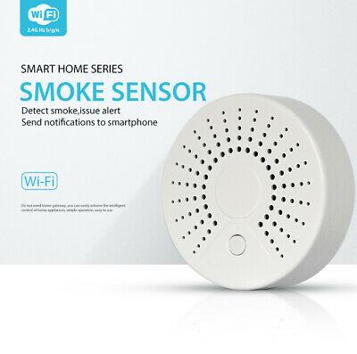 New NEO WiFi USB Wireless PIR Infrared Smoke Detector Sensor Home Alarm System