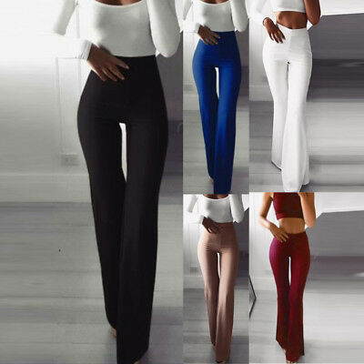 Bootcut Pants Women Hight Waist Stretch Comfy Work Office Pull on Long Pant