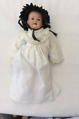 A Small German Bisque Headed  Pm 914 7/0 24Cms Poor Condition A Beautiful Doll