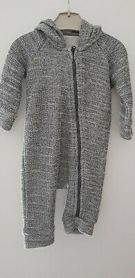 Baby Boys Hooded Marks and Spencer Romper/all in one 0-3 Months