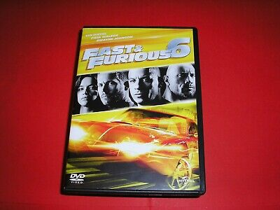 "DVD,""FAST AND FURIOUS 6"",vin diesel,paul walker,dwayne johnson,etc,(515)"