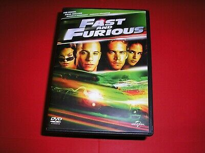 "DVD,""FAST AND FURIOUS 1"",paul walker,vin diesel,michelle rodriguez,etc,(521)"