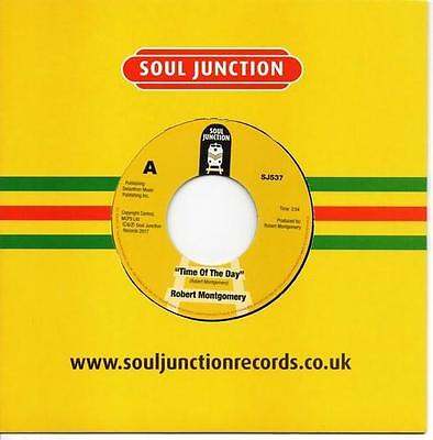 ROBERT MONTGOMERY Time Of The Day / Take Me High NEW MODERN SOUL 45 (SJ537) 70s