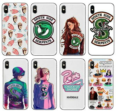 Riverdale South Side Serpents Jughead Silicone Cover Case For Huawei iPhone