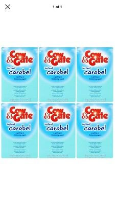 Cow & Gate Instant Carobel 135g (PACK OF 6)