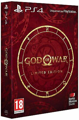 God of War Limited Edition (Playstation 4) PS4