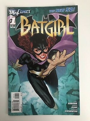 Batgirl Vol. 4 - #1 | Adam Hughes Cover | 1st Print | DC Comics - November 2011