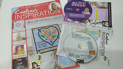 Magazine from CRAFTERS INSPIRATION Autumn Issue 15 PRINTABLES CD & Tutorial DVD