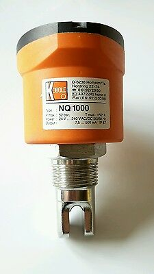 KOBOLD NQ1000 ULTRASCHALL Füllstandssensor ultrasonic level switch 60604.1