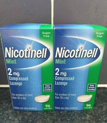 NICOTINELL MINT 2mg Compressed Lozenge X 192 Lozenges